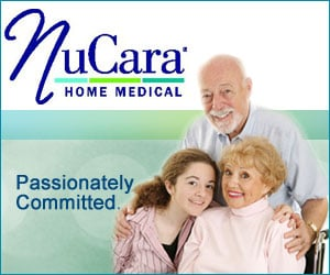 NuCara Home Medical - Sponsorship Header