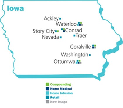 NuCara Home Medical - Map