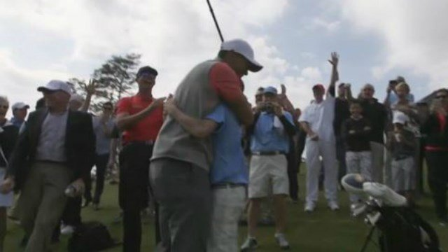 Tiger Woods Reacts to 11-Year-Old's Hole-in-One