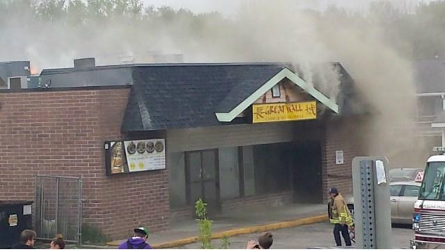 Update Kitchen Appliance Ignites Restaurant Fire In Cedar Falls Kwwl Eastern Iowa Breaking