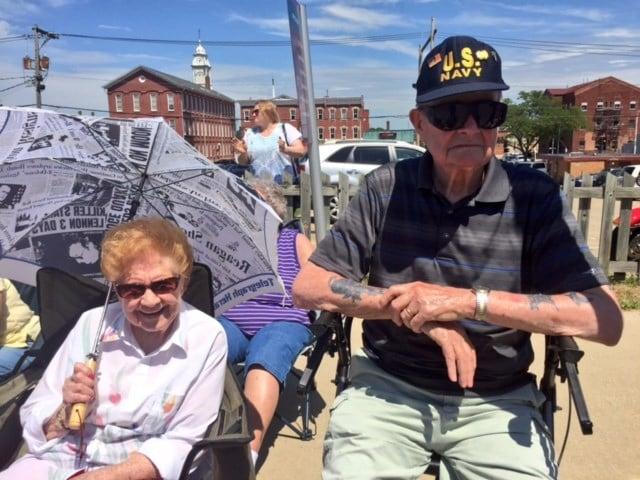 Jim Baker, Navy veteran
