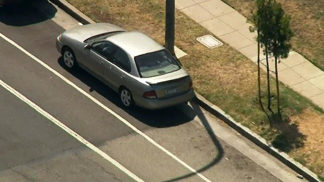 Police found the car Mainak Sarkar drove from Minnesota to Los Angeles, where he killed a UCLA professor before turning it on himself, in Culver City on Friday, June 3, 2016, according to the LAPD.
