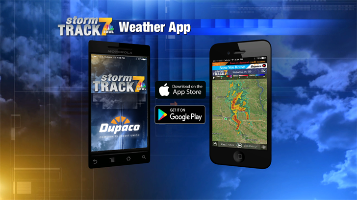 Download the FREE Storm Track 7 Weather App