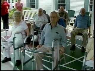 Chair Yoga For Senior Citizens Kwwl Eastern Iowa