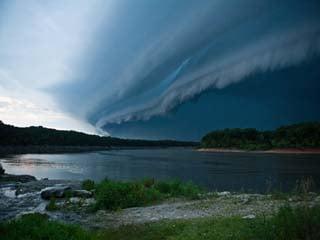 Rodney Gehman sent this in as he was taking pictures for a photo session by Lake McBride