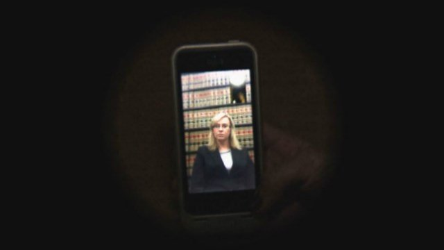 Assistant Story County Attorney Jessica Reynolds chats with KWWL via Facetime.