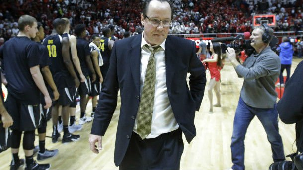 Wichita St coach suspended after getting tossed in Canada