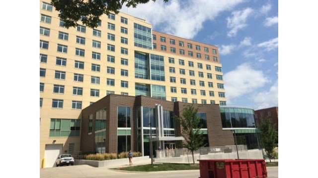 Petersen Hall, completed about a year ago currently houses nearly 550 students.