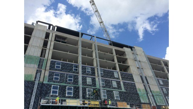 Madison Street Residence Hall is under construction, it's expected to house more than 1,000 students.