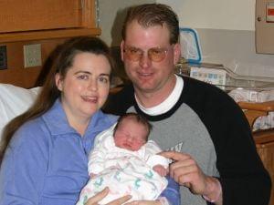 Kelsey Jerri Goebel and parents Penny and Danny Goebel
