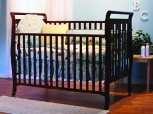One of the recalled cribs