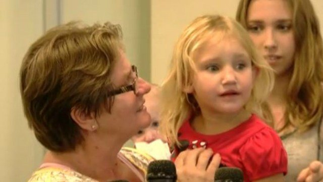 Missing Fla. girl reunited with family