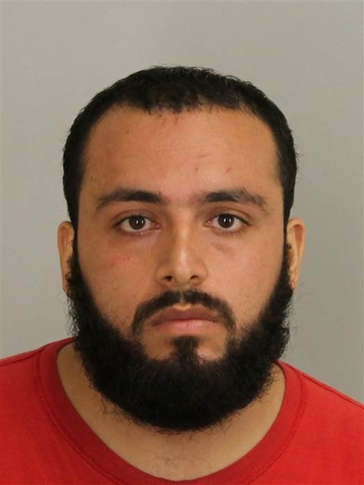 Ahmad Khan Rahimi in a police mugshot. Union County, N.J., Prosecutor's Office