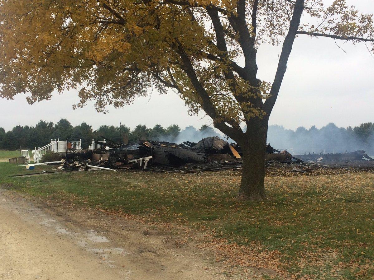 Clarskville home still smoldering after overnight fire