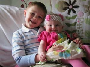 Carson and Claire DeJoode were killed in Thursday's crash. Their mother is in critical condition.