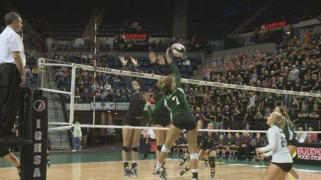 Columbus falls short in state volleyball kwwl eastern for Champion motors waterloo iowa