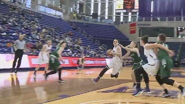Uni Women Top Wisconsin Parkside Kwwl Eastern Iowa