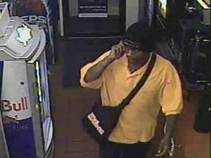 Police are looking for this man who robbed a Cedar Falls convenience store Saturday night.