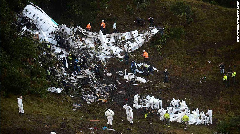 Chapecoense flight may have run out of fuel says pilot - recording