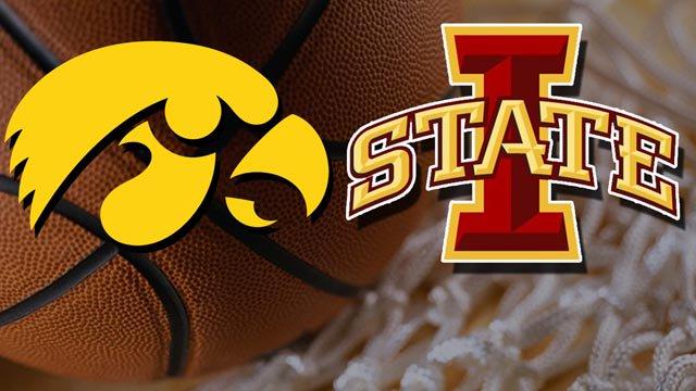 Iowa upsets 25th-ranked Iowa State