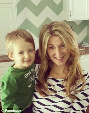 Curran Collas (with mom Jackie Collas)