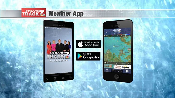 Download the NEW Storm Track 7 Weather App