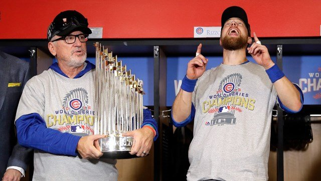 Cubs World Series Trophy coming to eastern Iowa