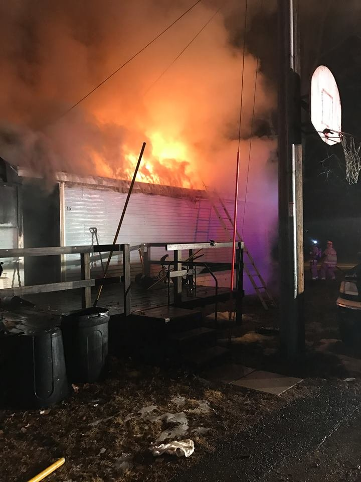 Photo from Evansdale Fire Department