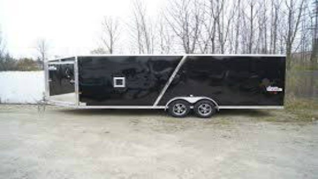 Generic picture of the type of trailer stolen during a December burglary in Keiler, Wis.