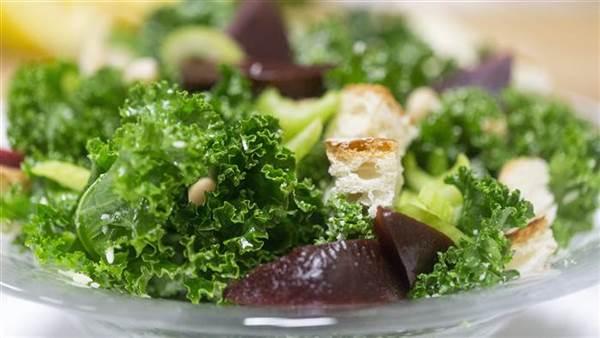 Kale salads are a nutritional powerhouse.