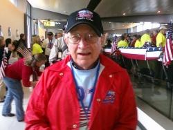Bob Gradl at Dulles International Airport in Washington, D.C.