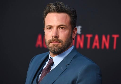 "(Photo by Jordan Strauss/Invision/AP, File). FILE- In this Oct. 10, 2016, file photo, Ben Affleck arrives at the world premiere of ""The Accountant"" at the TCL Chinese Theatre in Los Angeles. Affleck says he has recently completed treatment for alcohol ..."
