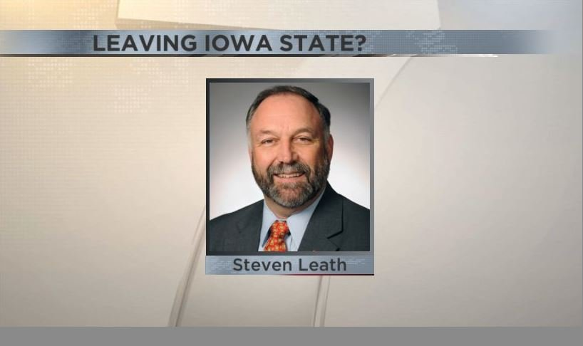 Leath leaving Iowa State amid budget cuts, enrollment growth class=