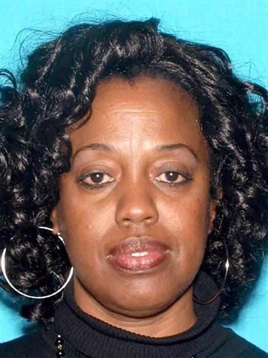 Karen Smith, 53, was identified as a victim in a shooting at a school in San Bernardino, California. SAN BERNARDINO POLICE HANDOUT / EPA