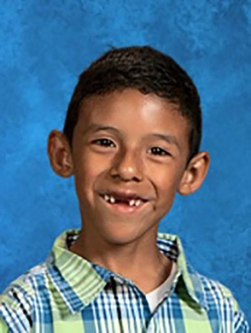 Jonathan Martinez, 8. Courtesy of family via San Bernardino School District
