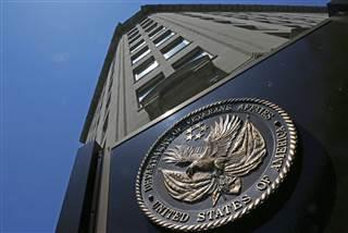 Department of Veterans Affairs building in Washington, D.C. Charles Dharapak / AP