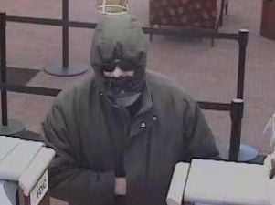This man robbed the Wells Fargo bank  on Edgewood Road in Cedar Rapids Tuesday morning.