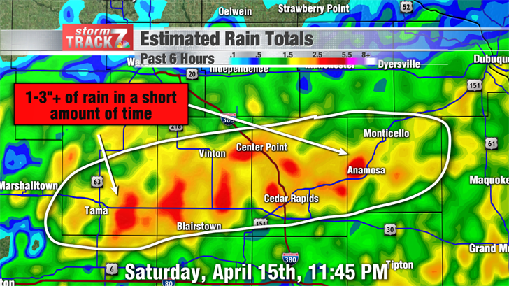 Estimated Rainfall