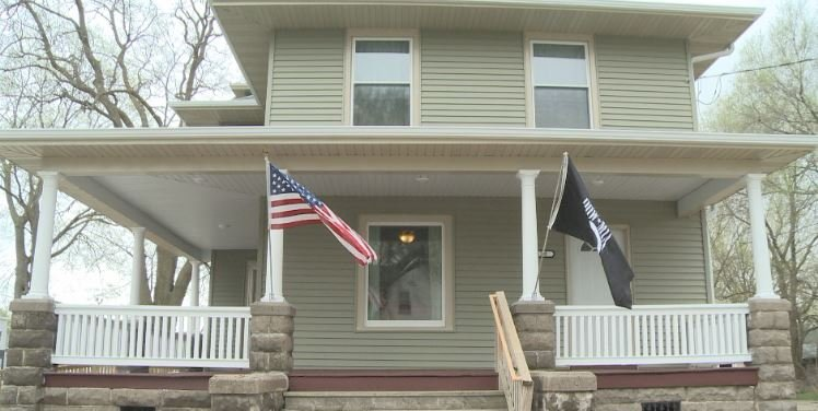 Homeless Veteran Home Opens In Waterloo Wvva Tv Bluefield Beckley Wv News Weather And Sports