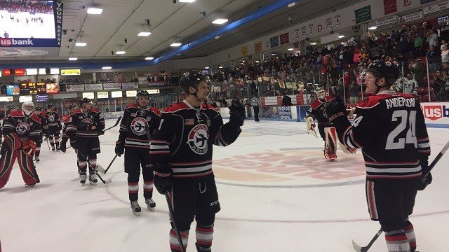 USHL: Waterloo Tops Sioux City 3-1 To Force Decisive Game Five