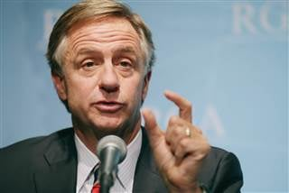 Tennessee Gov. Bill Haslam wants 55 percent of adults in his state to have a college degree or certificate by 2025. Chip Somodevilla / Getty Images file