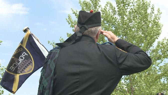 Flags lowered to half-staff in recognition of Peace Officers Memorial Day