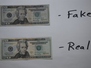fake 20 bills found in waterloo