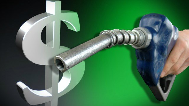 Average price of gas up 8 cents