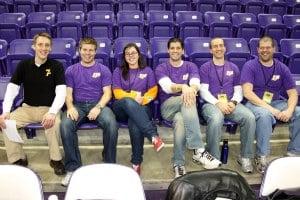 The Crew.  Starting at Left: Jason Mortvedt, Mike Verlo, Nicole Barth, Matt Haupert, Phil Hunt & Jason DeWitt
