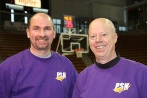CFU's Director Denny Bowman (left) Executive Producer Kirk Eastman (right)