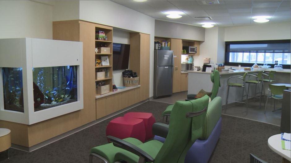 Ronald mcdonald house family room helps families of icu for Ronald mcdonald family room