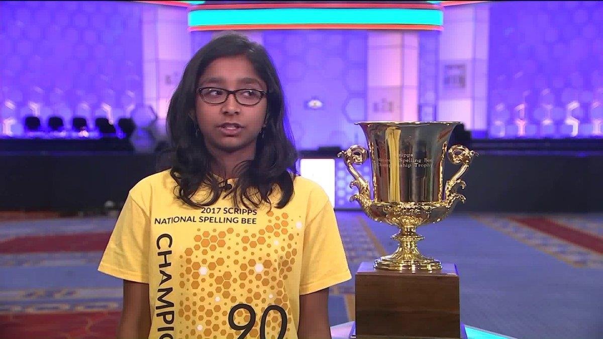 Ananya Vinay, California 6th Grader, Wins Scripps National Spelling Bee