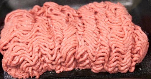 "(AP Photo/Nati Harnik, File). - FILE- This March 29, 2012, file photo, shows the beef product critics call ""pink slime"" during a plant tour of Beef Products Inc. in South Sioux City, Neb. Jury selection is set to start Wednesday, May 21, 2017."