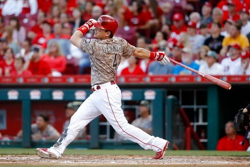 Reds' Scooter Gennett Has Monster Night With 4 HRs, 10 RBIs